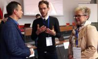 Robert Preus, Michal Klichowski  Barbara Daroń wicedyrektor KPCEN w Bydgoszcz