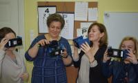 Testujemy okulary do wirtualnej rzeczywistości dla osób słabo widzących, fot. Jacek Knychała