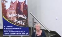 Małgorzata Trzeciak, dyrektor KPCEN w Toruniu, kierownik projektu