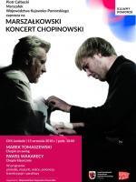 "Plakat - ""Marszałkowski koncert Chopinowski"""