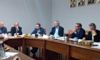 Uczestnicy posiedzenia  Zespołu ds. polityki gospodarczej, rynku pracy i strategii rozwoju województwa w dniu 13.11.2018 r.