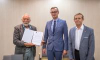 Podpisanie umów z partnerami KSOW, fot. Szymon Zdziebło/tarantoga.pl