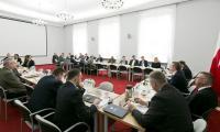 Uczestnicy posiedzenia K-P WRDS, fot. Jacek Nowacki
