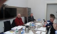 Uczestnicy posiedzenia Prezydium K-P WRDS