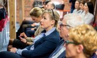 Uroczyste podpisanie umowy odbyło się w Regionalnym Inkubatorze Przedsiębiorczości w Toruniu z udziałem marszałka Piotra Całbeckiego, członka zarządu BGK Przemysława Cieszyńskiego oraz prezes KPFP Agnieszki Wasity, fot. Łukasz Piecyk