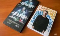 """serial """"Belfer"""" i książka """"Stuhrmówka…"""" z autografem Macieja Stuhra, fot. Andrzej Goiński"""