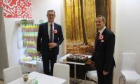 Stoisko  naszego województwa na targach Zielony Tydzień w Berlinie, fot. Andrzej Żeglarski/UMWKP