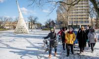 Zwiedzanie Parku Solankowego w Inowrocławiu, fot. Łukasz Piecyk