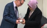 Wizyta w Toruńskich Zakładach Materiałów Opatrunkowych, fot. TZMO