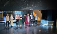 """Po premierze """"Edypa Tyrana"""", fot. Teatr im. Wilama Horzycy"""