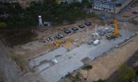 19.04.2017 Fundamenty parkingu wielopoziomowego, fot. Sky Drone Studio
