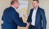 Uroczyste wręczenie umów o dofinansowanie projektów w ramach RPO i PROW w Urzędzie Marszałkowskim, fot. Łukasz Piecyk