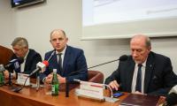 Ceremonia podpisania umowy i listu intencyjnego w sprawie finansowania rozbudowy UTP, fot. Filip Kowalkowski dla UMWKP