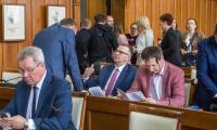 Sesja sejmiku województwa, 23 kwietnia 2018, fot. Szymon Zdziebło/tarantoga.pl
