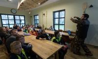 Uczniowie Szkoły Podstawowej w Sosnówce (powiat grudziądzki) zwiedzali Tucholski Park Krajobrazowy, fot. Filip Kowalkowski
