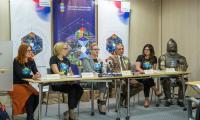 Konferencja prasowa poświęcona inauguracji sezonu turystycznego w Urzędzie Marszałkowskim, fot. Szymon Zdziebło/Tarantoga.pl