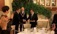 Podczas uroczystej kolacji dla przedstawicieli świata polityki, biznesu, kultury i nauki regionu Nawarra, fot. Urząd Marszałkowski