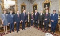 Spotkanie przedstawicieli Kujawsko-Pomorskiego z prezydent Nawarry Uxue Barkos, fot. Gobierno de Navarra