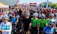 Wyścig kolarski VeloToruń, 6 maja, fot. Łukasz PIecyk