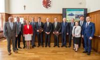 Uroczyste podpisanie umowy z wykonawcami inwestycji, fot. Szymon Zdziebło/Tarantoga.pl