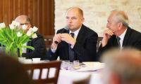 Posiedzenie Konwent Powiatów Województwa Kujawsko-Pomorskiego, fot. Szymon Zdziebło/tarantoga.pl dla UMWKP