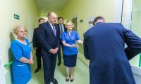 Wizyta w szpitalu powiatowym w Rypinie, fot. Szymon Zdziebło/Tarantoga.pl
