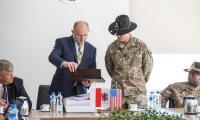 Spotkanie z żołnierzami w Urzędzie Marszałkowskim, fot. Szymon Zdziebło/Tarantoga.pl