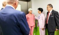 Wizyta przedstawicieli samorządu województwa w Wojewódzkim Szpitalu Dziecięcym w Bydgoszczy, fot. Filip Kowalkowski