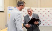 Uroczyste wręczenie umów w Urzędzie Marszałkowskim, fot. Łukasz Piecyk