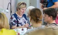 Uroczystość otwarcia Dziennego Domu Pobytu w Unisławiu, fot. Szymon Zdziebło/Tarantoga.pl