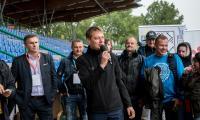 Turniej piłkarski Trampolina Cup na Stadionie Miejskim w Toruniu, fot. Łukasz Piecyk