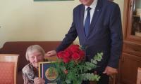 Wizyta wicemarszałka Zbigniewa Ostrowskiego u Cecylii Przewoźnej, fot. Paulina Pietrzycka