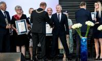 Nagrodę dla Radia GRA Toruń odebrał szef anteny Mariusz Składanowski, fot. Andrzej Goiński
