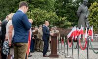 przemówienie marszałka Piotra Całbeckiego, fot. Łukasz Piecyk