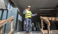 Rozbudowa kompleksu szpitala na Bielanach jest zaawansowana w 50 procentach, fot. Łukasz Piecyk