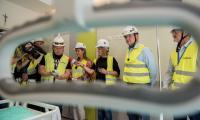 Pierwszy pokój chorych w nowym budynku głównym Wojewódzkiego Szpitala Zespolonego jest już gotowy, fot. Łukasz Piecyk