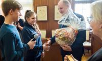 W ramach Międzynarodowych Dni Młodzieży w Kujawsko-Pomorskiem gościliśmy w Urzędzie Marszałkowskicm uczniów liceum polonijnego w Warszawie, fot. Łukasz Piecyk