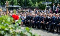 Jednym z najważniejszych wydarzeń roku 100-lecia odzyskania niepodległości była uroczysta sesja sejmiku województwa połączona z Forum Samorządowym, która odbyła się 14 maja na placu przed Urzędem Marszałkowskim w Toruniu, fot. Łukasz Piecyk
