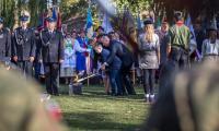 6 października 2018, Odsłonięcie Pomnika Pamięci Ofiar Zbrodni Pomorskiej 1939, fot. fot. Szymon Zdziebło/tarantoga.pl