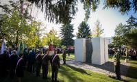 6 października 2018, Odsłonięcie Pomnika Pamięci Ofiar Zbrodni Pomorskiej 1939, fot. Andrzej Goiński