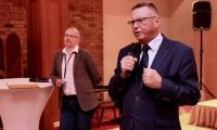 """Wręczenie nagród w konkursie spotów reklamowych """"Fundusze Europejskie w Kadrze"""", fot. Andrzej Goiński"""