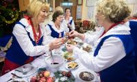 Spotkanie wigilijne Koła Gospodyń Wiejskich Bronisław (powiat radziejowski), fot. Andrzej Goiński