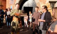 Powitanie grupy na Zamku Golubskim