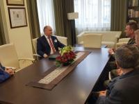 Spotkanie z przedstawicielami Terytorialnych Oddziałów Administracji Wojskowej z regionu, fot. Marcin Swaczyna