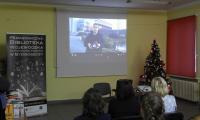 Prezentacja filmu laureata 2.nagrody, Klaudiusza Webera