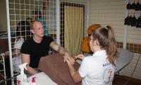 Relaks w pracowni technika masażysty