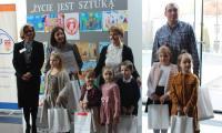 Nagrodzone prace w konkursie plastycznym - przedszkola