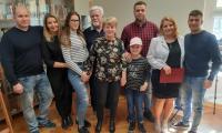 Rodzina i bliscy Pani Sylwii, fot. Agata Pasternak