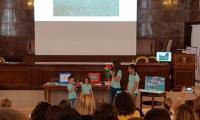 Wystąpienie uczennic i uczniów ze szkoły w Maladze