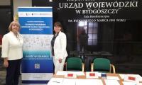 Organizatorzy konferencji I. Nowakowska i M. Chylebrant-Karolak, fot. G. Nazaruk